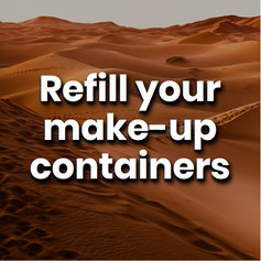Some brands offer make-up refills at discounted rates. Others allow you to return empty containers where they can be recycled correctly. Looking good never felt so good.