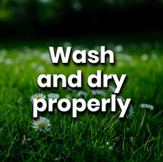 Washers and dryers consume a lot of power, we need to reduce where we can by filling the washing machine, washing at lower temperatures and drying our clothes naturally.