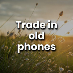 The components in your phone and laptop are made of valuable materials that are not biodegradable. Trade them or sell them so the parts can be upcycled or recycled.