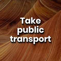 Using public transport is a great way to reduce your carbon footprint. It means less cars on the road, less fuel being burned, and less CO2 being produced.