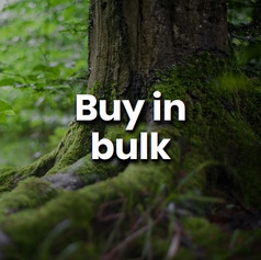 Bulk buying means the there is less packaging needed. This limits waste, saves money and ensures a constant supply of food. It also means fewer trips to the shop.