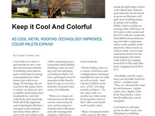 Metal Roof Technology