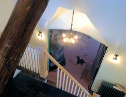 open stair attic