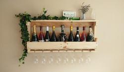 8 Glass Wine Rack