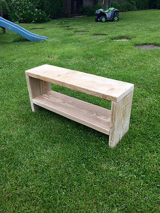 Kids Rustic TV Media Unit Stand