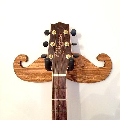 Moustache Guitar Wall Hanger