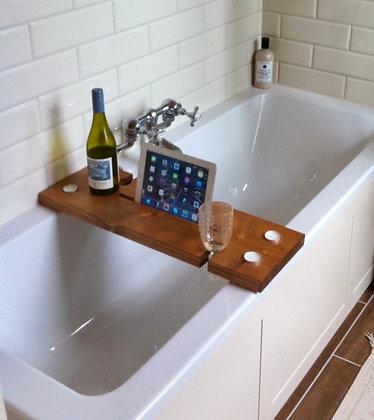 Rustic Bath Caddy - 4 Colours