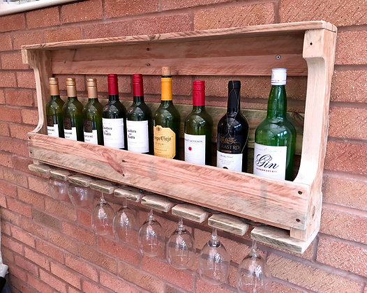Bistro Wine Rack - Natural
