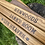 Thumbnail: Personalised Rustic Shelves | Solid Chunky Wood | Home Office Bar | 22cm x 3.6cm