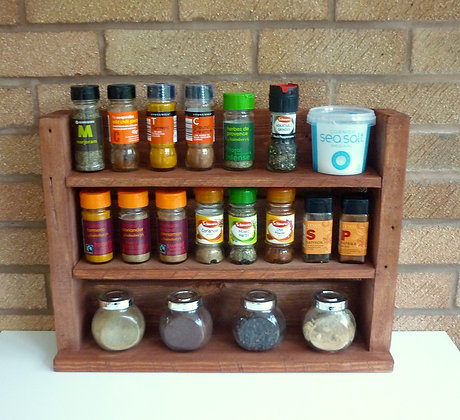 Spice Rack - Rosewood