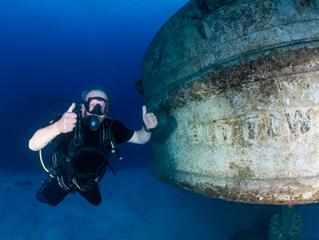 Ex-Serviceman Dives the Kittiwake