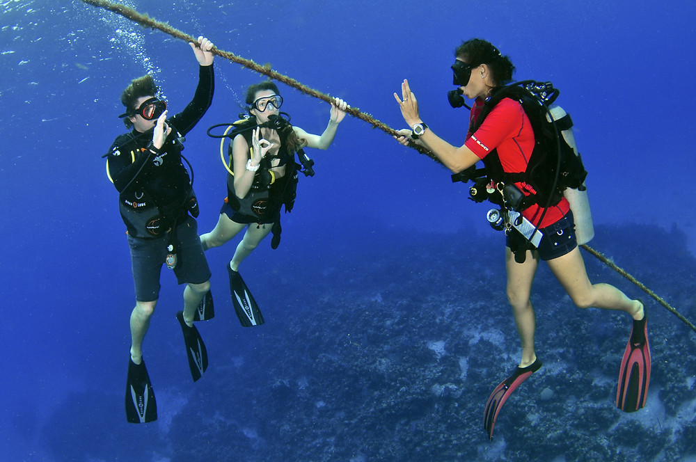 Learn to Dive in Grand Cayman