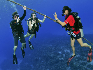 Diving is a Family Affair