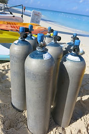 Scuba Diving Tanks Seven Mile Beach Grand Cayman