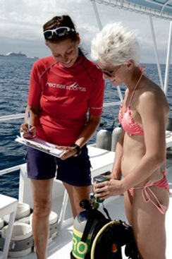 Nitrox diving Grand Cayman