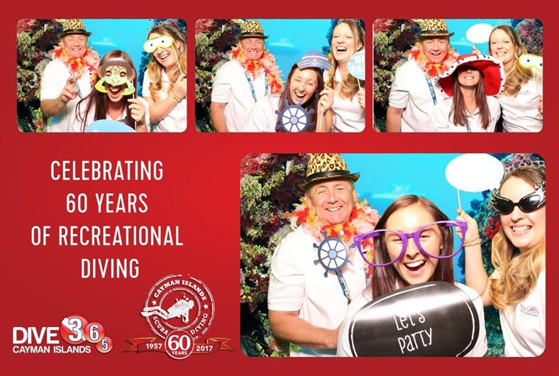 Red Sail Staff in Photo Booth