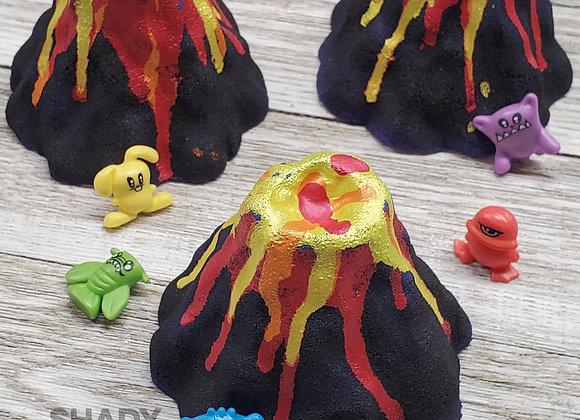 Erupting Mount Marshmallow Volcano Prize Bath Bomb