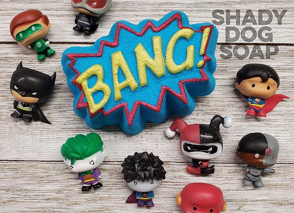 DC Comics Chibi figure Prize Bath Bomb