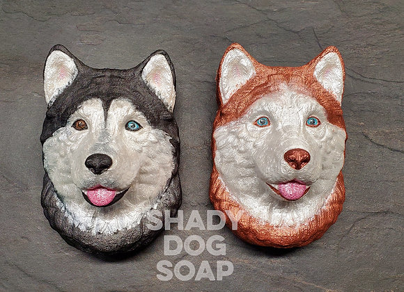 Siberian Husky Bath Bomb