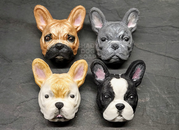 French Bulldog/Boston Terrier Bath Bomb