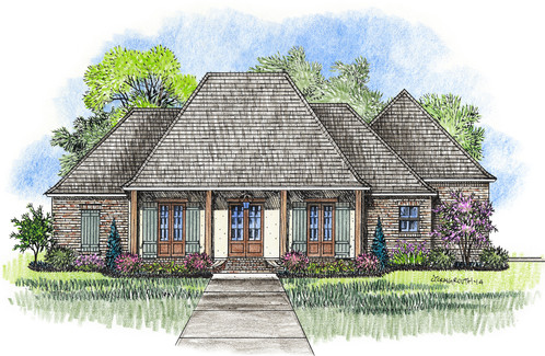 Captivating 11022 | House Plans | Baton Rouge, Louisiana | Square One Designs LLC
