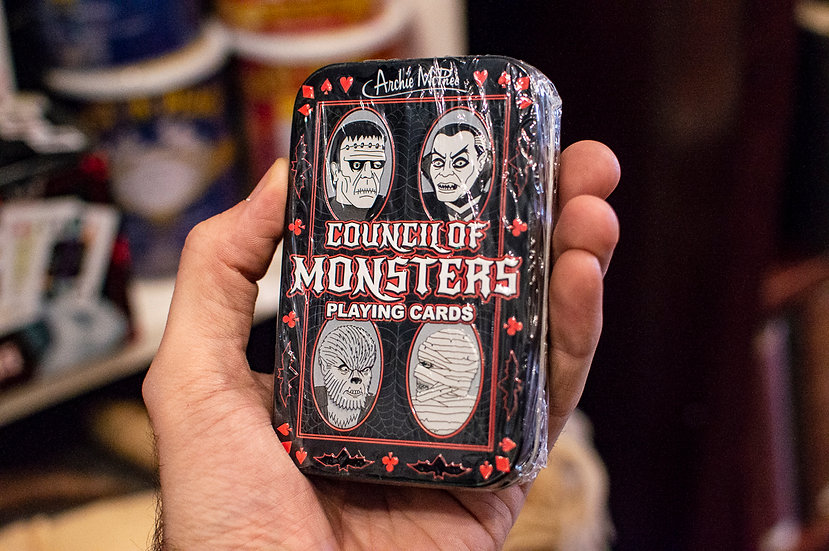 Council of Monsters - Playing Cards