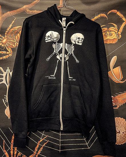 Bazaar Hoodie - Conjoined Skeleton