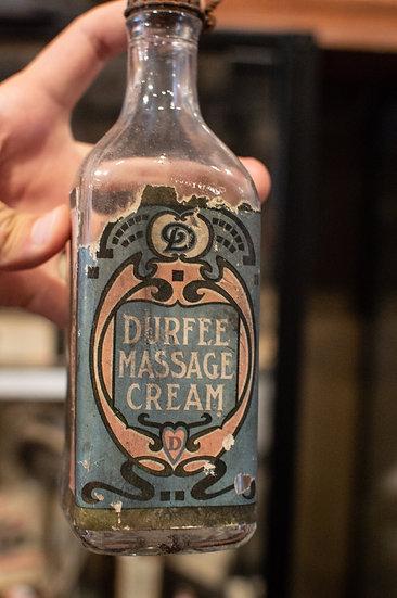 Durfee Embalming Massage Cream