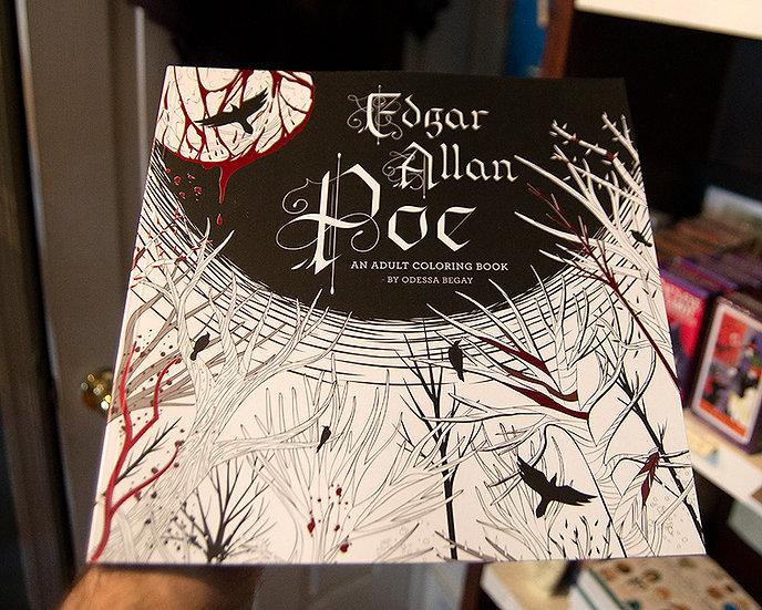 Edgar Allan Poe Coloring Book