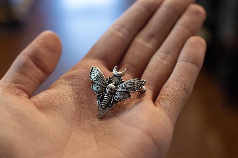 Death Head Hawkmoth Pin