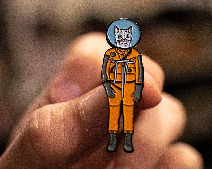 Astro-Cat Enamel Pin