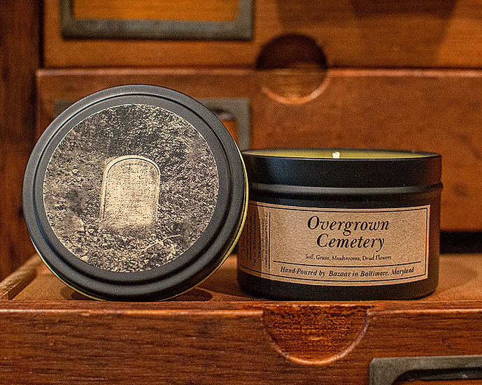 Overgrown Cemetery - 8.5 oz Soy Candle