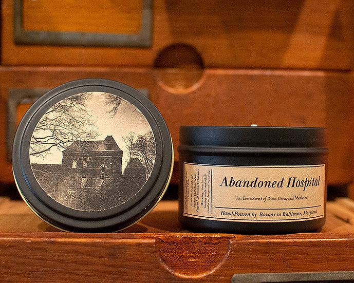 Abandoned Hospital - 8.5 oz Soy Candle