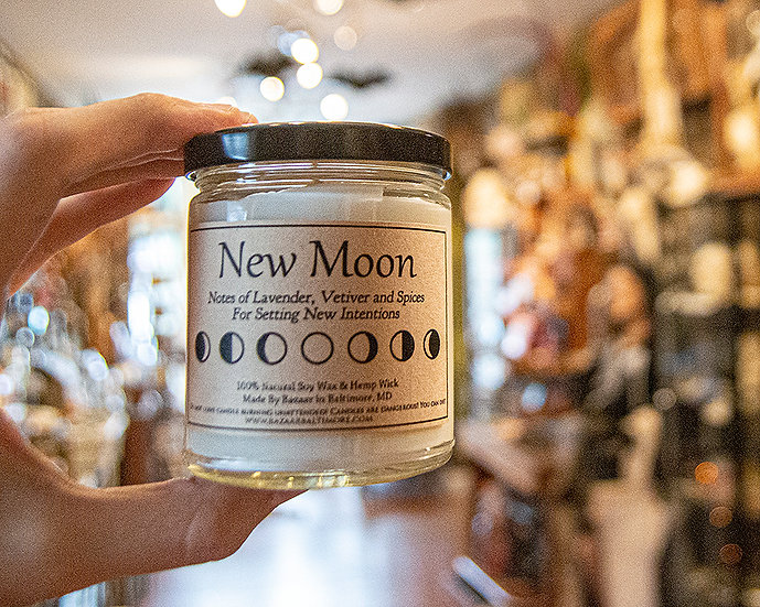 New Moon - 9oz Soy Candle