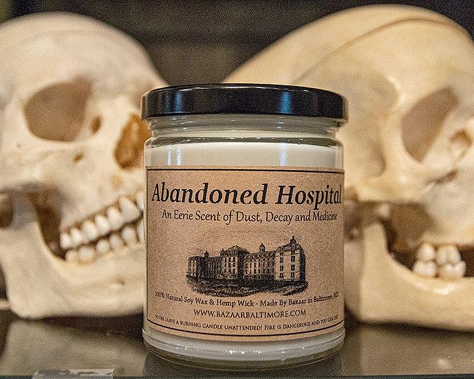 Abandoned Hospital - 9oz Soy Candle