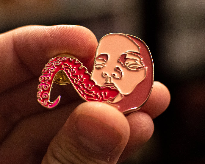 Baby's First Tentacle Enamel Pin