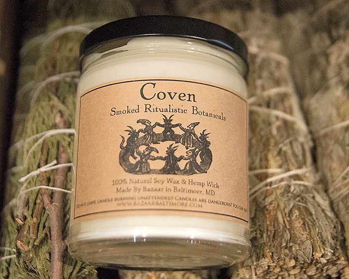 Coven - 9oz Soy Candle