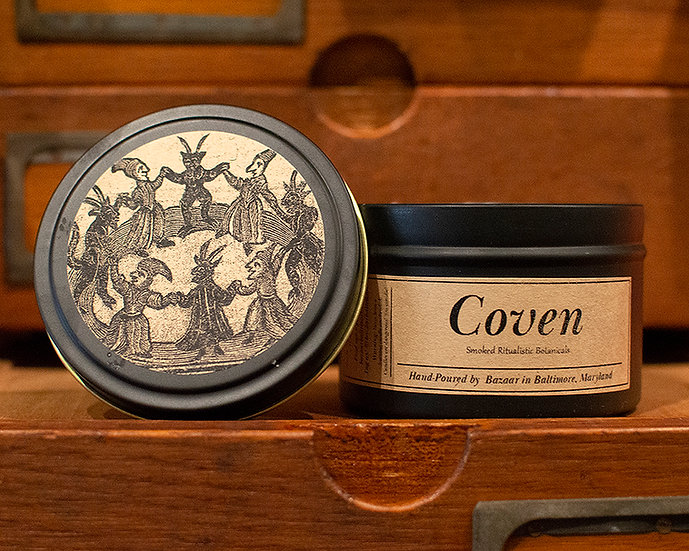 Coven - 8.5 oz Soy Candle