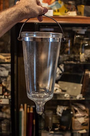 Antique Embalming Gravity Flask Pump