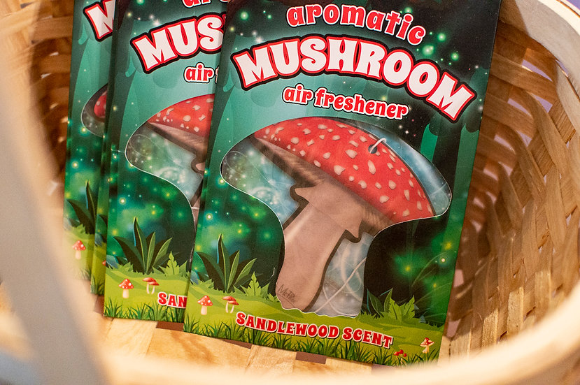 Mushroom Air Freshener - Sandalwood Scent