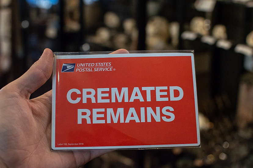 Cremated Remains Magnet