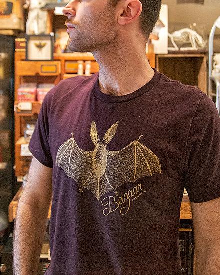 Bazaar Bat Shirt - Blood & Gold Limited Edition