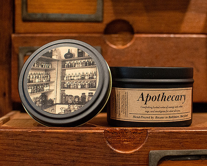 Apothecary - 8.5 oz Soy Candle