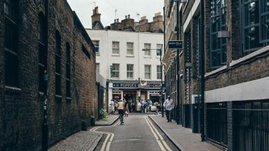 Beautiful Street in LONDON