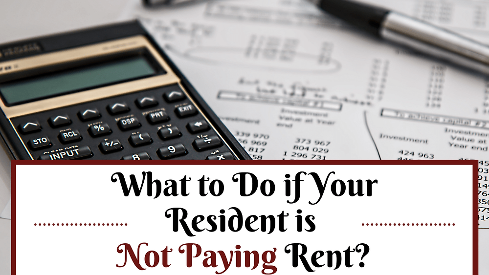 What to Do if Your Resident is Not Paying Rent in Whittier - Article Banner