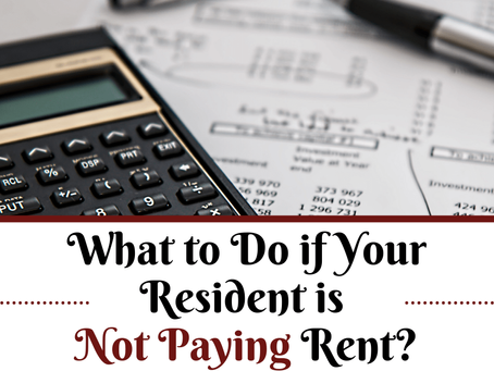 What to Do if Your Resident is Not Paying Rent in Whittier