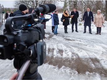 Пресс-тур по Камешковскому району