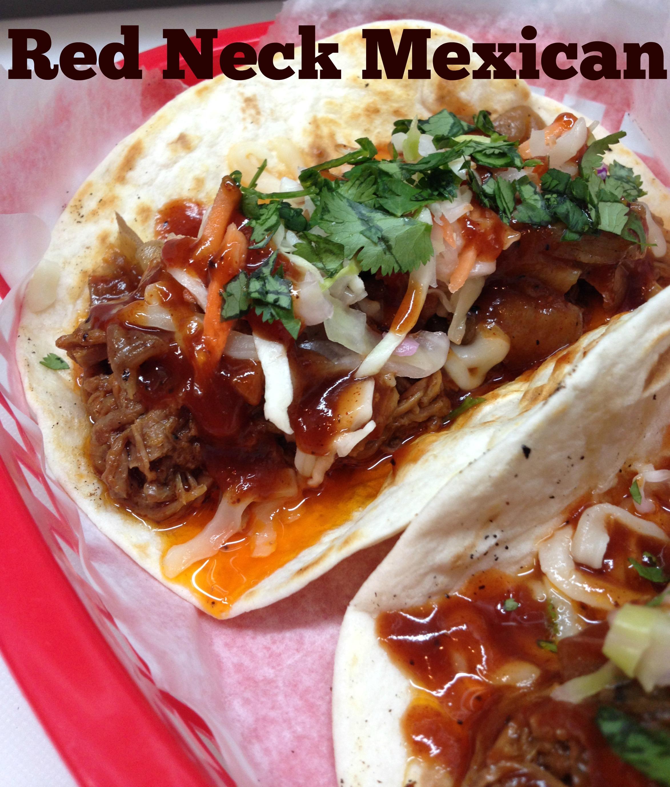 Redneck Mexican tacos