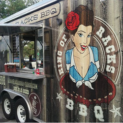 King of Racks BBQ Food Truck