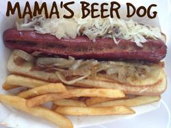 Mama Beer Dog